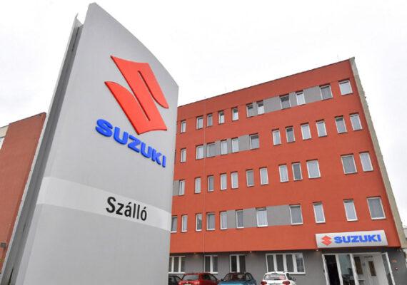 Suzuki szállót adtak át Esztergomban