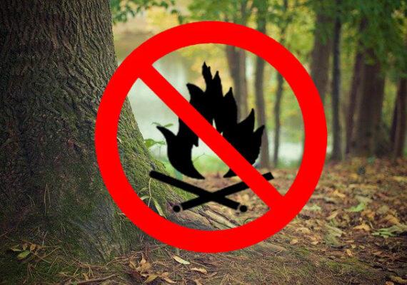Tűzgyújtási tilalom van az Alföld egy részén.